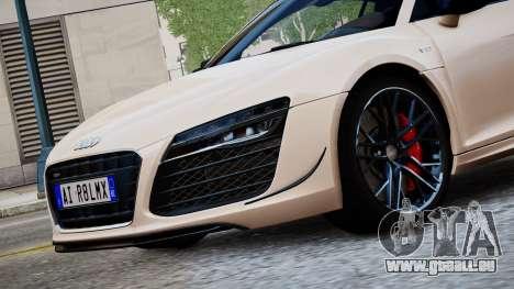 Audi R8 LMX 2015 EPM für GTA 4 hinten links Ansicht