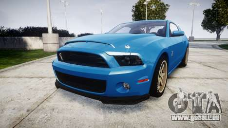 Ford Mustang Shelby GT500 2013 pour GTA 4