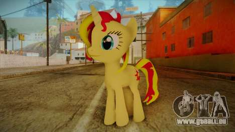 Summer Shimmer from My Little Pony pour GTA San Andreas