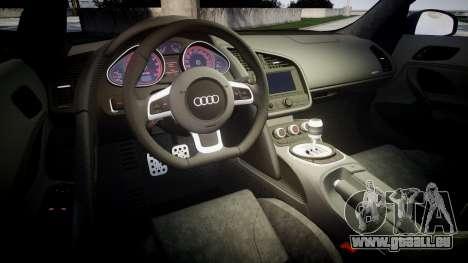 Audi R8 plus 2013 Wald rims für GTA 4 Seitenansicht