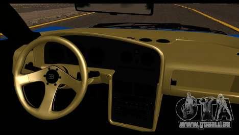 Bugatti EB110SS pour GTA San Andreas sur la vue arrière gauche