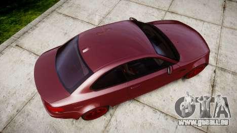 BMW 1M 2011 pour GTA 4 est un droit