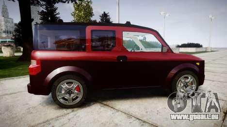 Honda Element 2005 für GTA 4 linke Ansicht