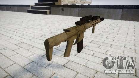 Fusil d'assaut AAC ratel [Remake] pour GTA 4 secondes d'écran