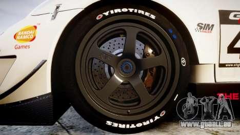 RUF RGT-8 GT3 [RIV] Project CARS pour GTA 4 Vue arrière