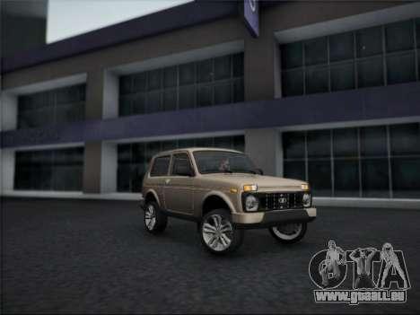 Lada Urdan pour GTA San Andreas laissé vue