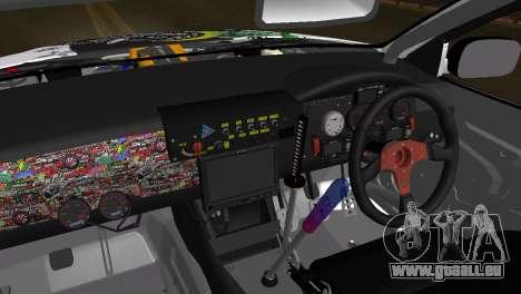 Toyota Aristo für GTA San Andreas zurück linke Ansicht