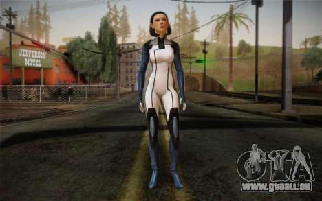 Dr. Eva Core New face from Mass Effect 3 für GTA San Andreas