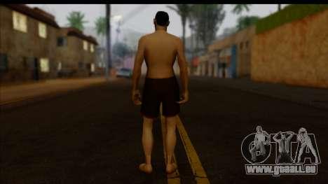 GTA San Andreas Beta Skin 7 pour GTA San Andreas deuxième écran