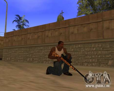 Jaguar Weapon pack für GTA San Andreas fünften Screenshot