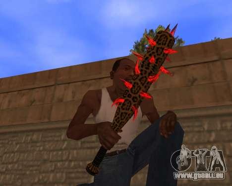 Jaguar Weapon pack pour GTA San Andreas quatrième écran