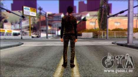 Ellie from The Last Of Us v3 für GTA San Andreas zweiten Screenshot