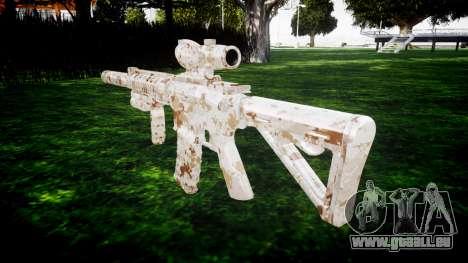 Machine M4 Devgru cible pour GTA 4 secondes d'écran