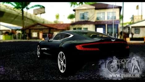 Aston Martin One-77 Beige Black für GTA San Andreas linke Ansicht