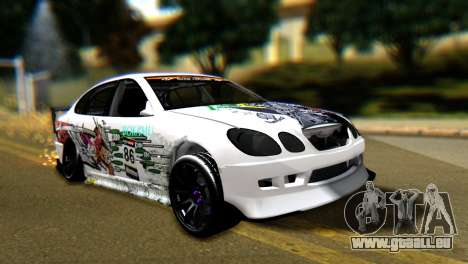 Toyota Aristo pour GTA San Andreas