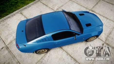 Ford Mustang Shelby GT500 2013 pour GTA 4 est un droit