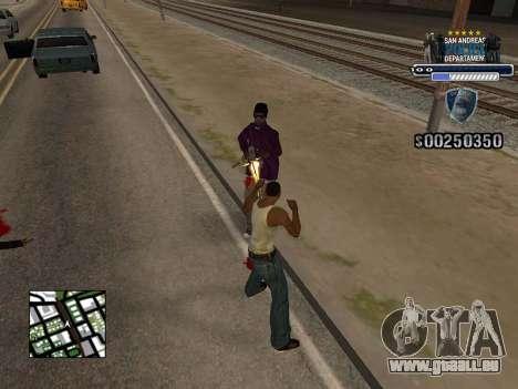 Police HUD für GTA San Andreas zweiten Screenshot