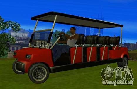 Caddy Restyle für GTA San Andreas