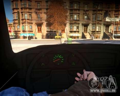 AZLK 2140 pour GTA 4 Vue arrière