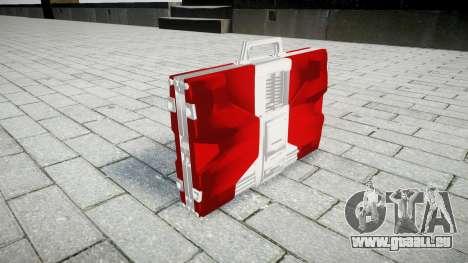 Iron Man Mark V Briefcase für GTA 4 Sekunden Bildschirm