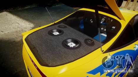 Mitsubishi Eclipse GSX 1995 pour GTA 4 vue de dessus