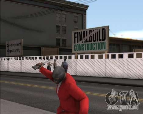 TF2 Spy Butterfly Knife pour GTA San Andreas deuxième écran