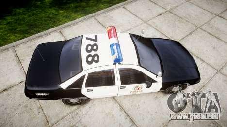 Chevrolet Caprice 1991 LAPD [ELS] Patrol für GTA 4 rechte Ansicht