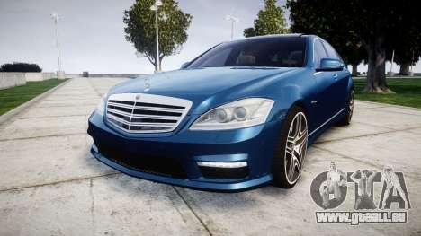 Mercedes-Benz S65 W221 AMG v2.0 rims2 pour GTA 4