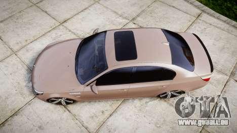 BMW M5 E60 v2.0 Wald rims für GTA 4 rechte Ansicht