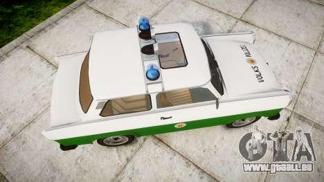 Trabant 601 deluxe 1981 Police für GTA 4 rechte Ansicht