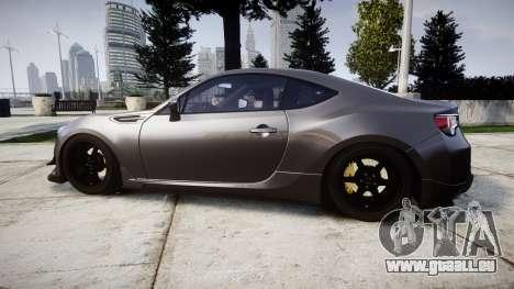 Subaru BRZ 2011 für GTA 4 linke Ansicht