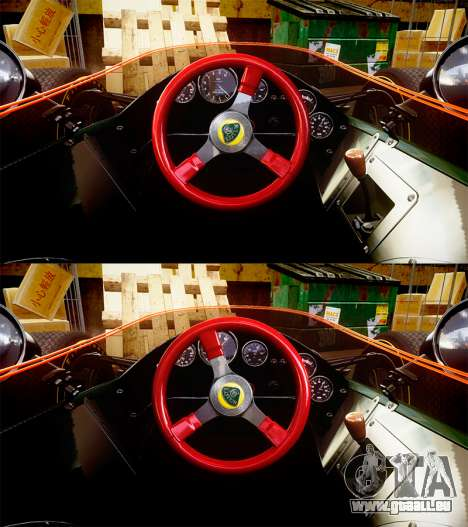 Lotus Type 49 1967 [RIV] PJ19-20 für GTA 4 Rückansicht