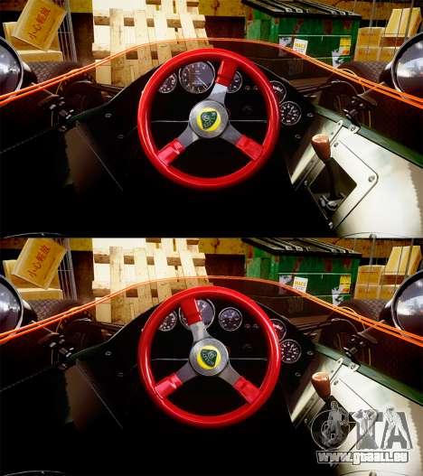 Lotus Type 49 1967 [RIV] PJ23-24 pour GTA 4 Vue arrière