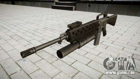 Fusil M16A2 M203 sight4 pour GTA 4