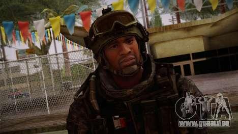 Modern Warfare 2 Skin 6 pour GTA San Andreas troisième écran