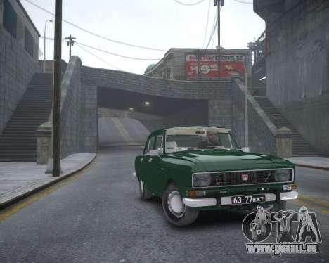 AZLK 2140 pour GTA 4 Vue arrière de la gauche