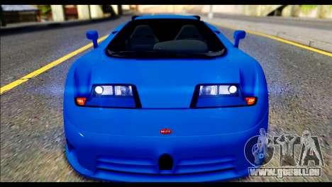 Bugatti EB110SS pour GTA San Andreas vue de droite