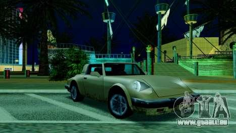 ENB pour les faibles et moyennes PC SA:MP pour GTA San Andreas huitième écran