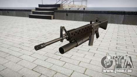 Gewehr M16A2 M203 sight3 für GTA 4