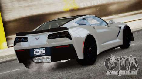 Chevrolet Corvette Z06 2015 pour GTA 4 est une gauche