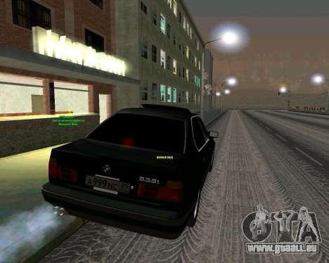 BMW 535i Stock pour GTA San Andreas laissé vue