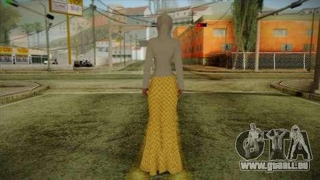 Kebaya Girl Skin v2 pour GTA San Andreas deuxième écran