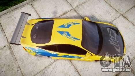 Mitsubishi Eclipse GSX 1995 pour GTA 4 est un droit