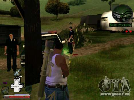 C-HUD Optiwka für GTA San Andreas