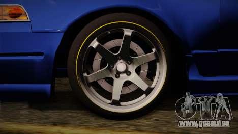 Nissan Cefiro A31 Stock pour GTA San Andreas sur la vue arrière gauche