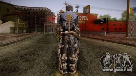 Mercenaries Exoskeleton pour GTA San Andreas deuxième écran