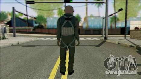 USA Jet Pilot from Battlefield 4 pour GTA San Andreas deuxième écran