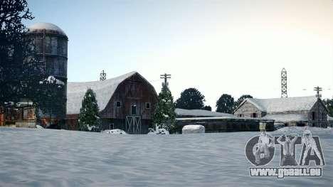 North Yankton IV pour GTA 4 troisième écran