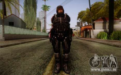 Shepard N7 Defender from Mass Effect 3 pour GTA San Andreas
