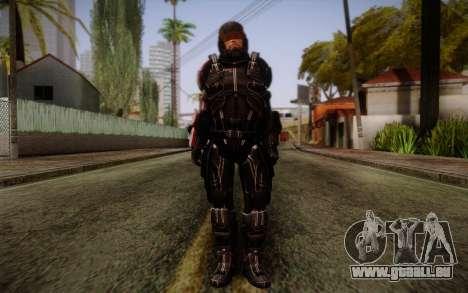 Shepard N7 Defender from Mass Effect 3 für GTA San Andreas